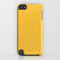 YELLOW DOTS iPod touch Slim Case