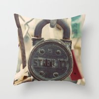 Stability Throw Pillow