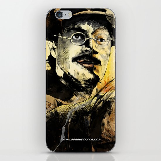 Halk Mask iPhone & iPod Skin