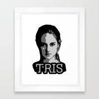 Divergent: Tris Framed Art Print