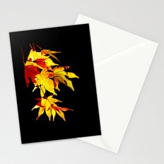 Golden Acer Stationery Cards