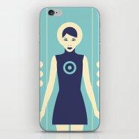 Isolde Blue iPhone & iPod Skin