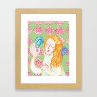 Angie Darling Framed Art Print