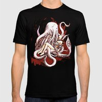 Cuthulhu Love Mens Fitted Tee Black SMALL