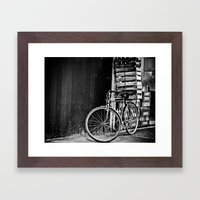 The Bicycle Framed Art Print