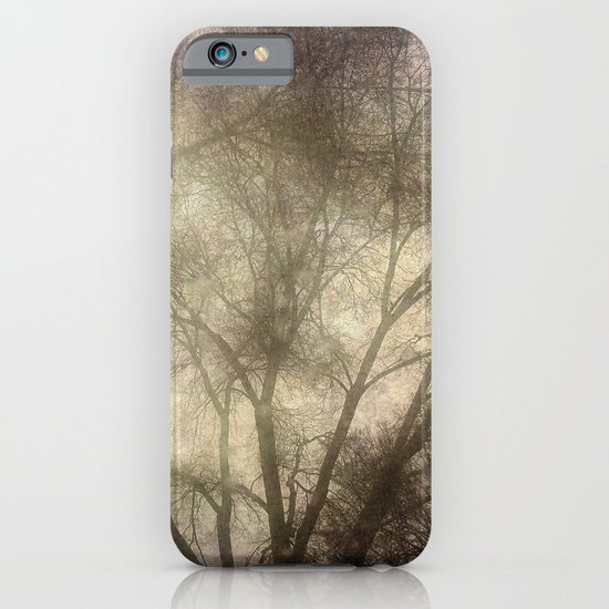 Interlocking trees iPhone & iPod Case