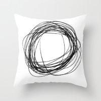 cs Throw Pillow