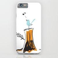 Nursery Bird iPhone 6 Slim Case