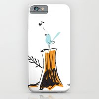 Nursery Bird iPhone 6 Slim Case