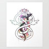 I M A G I N E Art Print