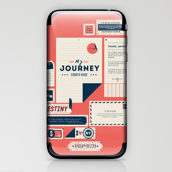 The Destination iPhone & iPod Skin