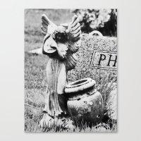 Cemetery Angel V Canvas Print