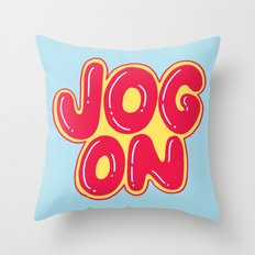 A Message 2 All The Haters Throw Pillow