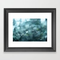 Flutter By Me Framed Art Print