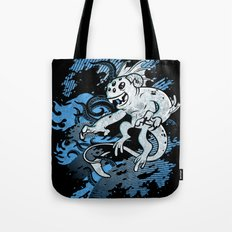 Interdimensional Icthy-demon Tote Bag