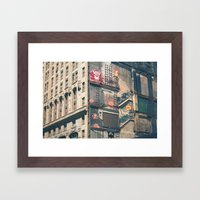 Building Kong Framed Art Print