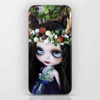 ISOBEL FAWN (Ooak BLYTHE Doll) iPhone & iPod Skin