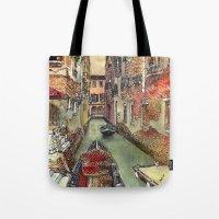 Autumn in Venice Tote Bag