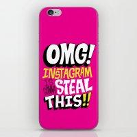 OMG! INSTAGRAM! iPhone & iPod Skin