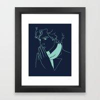 Sherlock H Framed Art Print