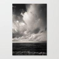 Summer Ver.black Canvas Print