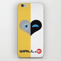 Wall-E Minimal Poster 01 iPhone & iPod Skin
