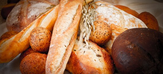 Assortment Of Artisan Breads Art Print
