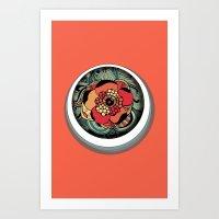 Profundidad Art Print