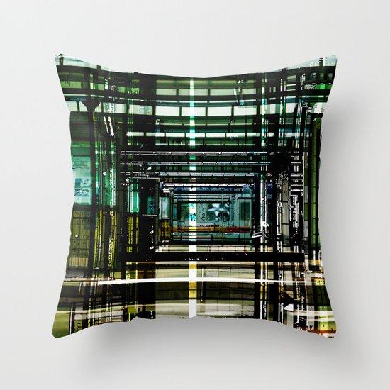 Mainstation Throw Pillow