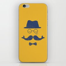 Joyful Whales iPhone & iPod Skin