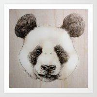 Balsa Panda Art Print