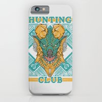 iPhone Cases featuring Hunting Club: Jinouga by MeleeNinja
