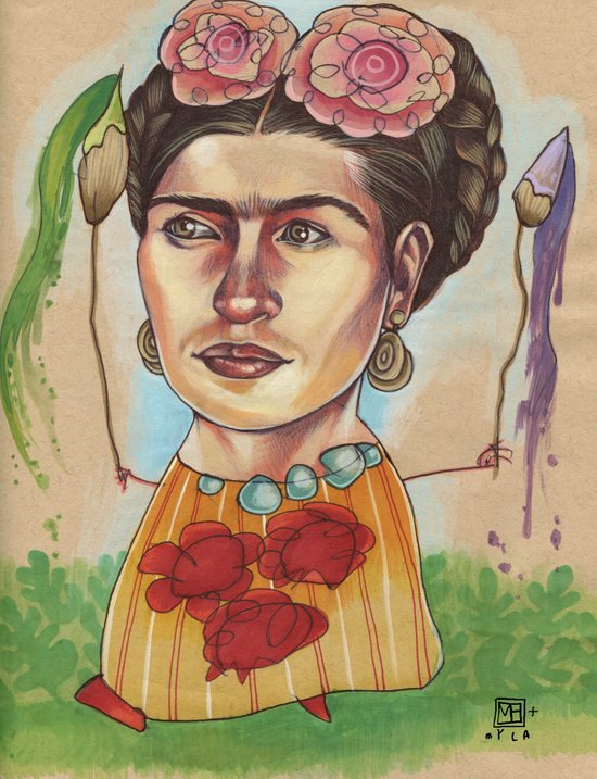 FRIDA Canvas Print