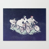 Ghost Race Canvas Print
