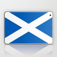 Flag Of Scotland - High … Laptop & iPad Skin