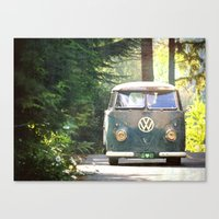Peace Love Nature Canvas Print