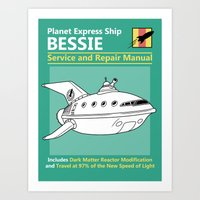 Bessie Service And Repai… Art Print