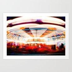 Go Round Art Print