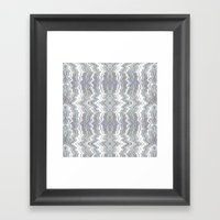 Water And Glass Framed Art Print