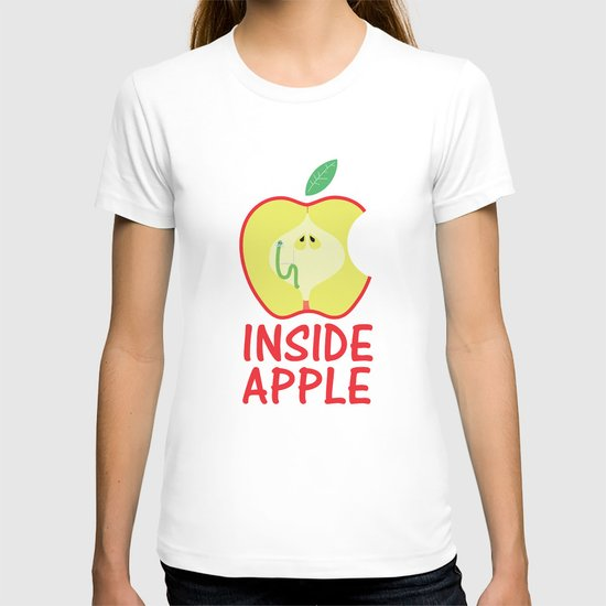 INSIDE APPLE T-shirt