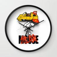 Danger-kira Mouse Wall Clock