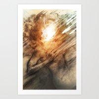 Panspermia 4 Art Print