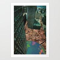 worlds in worlds Art Print