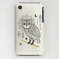 Hypno Owl iPhone (3g, 3gs) Slim Case