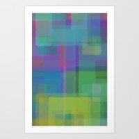 Squares#2 Art Print