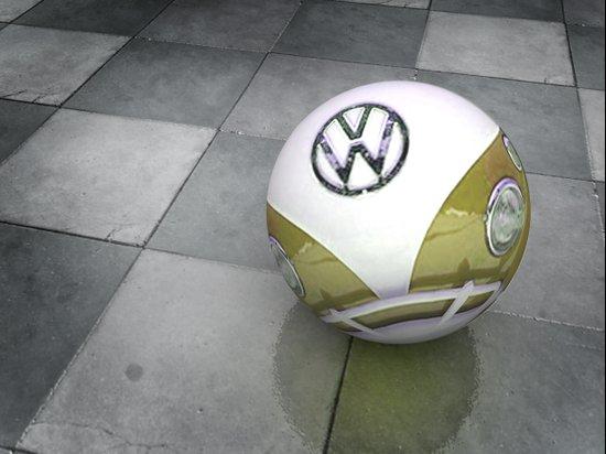 VW Ball _ Mustard Canvas Print