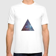 Biggest Hipster in all Cosmos SMALL White Mens Fitted Tee