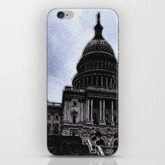 Storm over Capitol iPhone & iPod Skin