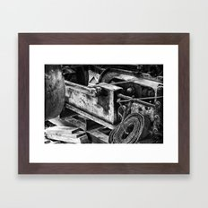 Machined Dream 01 Framed Art Print