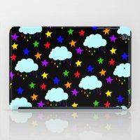 I wish it could rain colors iPad Case